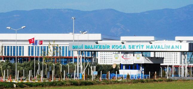 Balıkesir Koca Seyit Havaalanı (EDO)