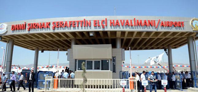 Şırnak Şerafettin Elçi  Havaalanı (NKT)