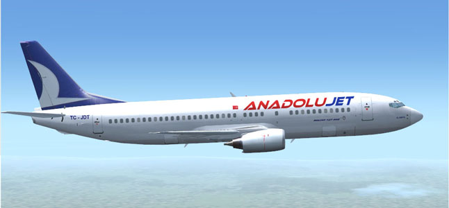 AnadoluJet Airline Ticket