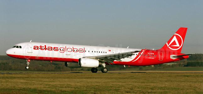 Atlasglobal İstanbul (Anadolu) Uçak Bileti