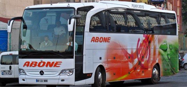 Abone Turizm İzmir Otobüs Seferleri