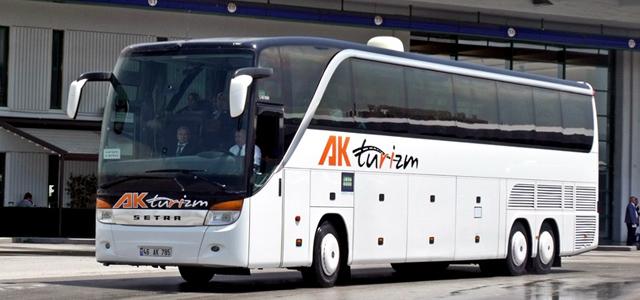 Ak Turizm Eskişehir Otobüs Seferleri