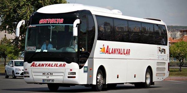 İstanbul (Avrupa) - Alanyalılar Turizm Otobüs Bileti | NeredenNereye.com