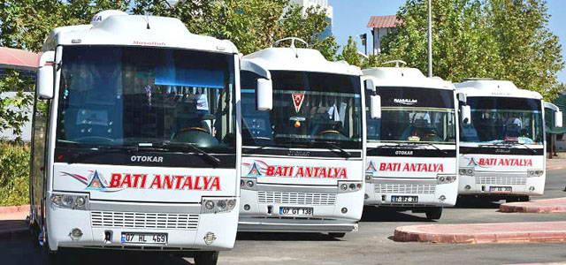 Batı Antalya Antalya Otobüs Seferleri