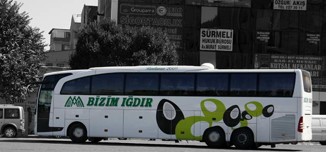 Bizim Iğdır Turizm Kocaeli Otobüs Seferleri