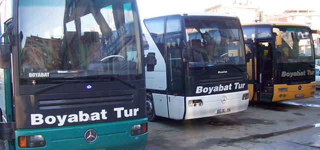 Boyabat Tur Kastamonu Otobüs Seferleri