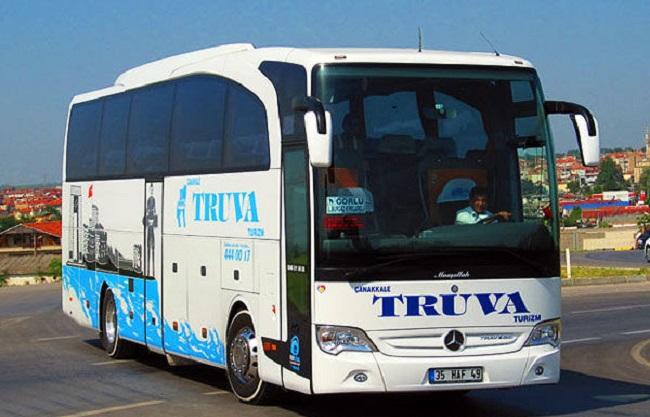 Çanakkale Truva İzmir Otobüs Seferleri
