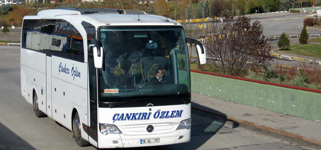Çankırı Özlem İstanbul (Avrupa) - Otobüs Seferleri