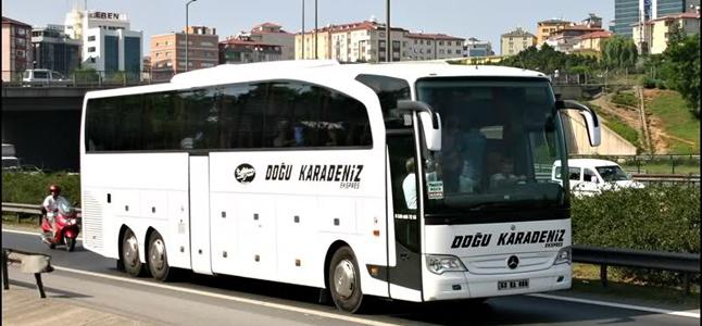 Doğu Karadeniz Ekspres İstanbul (Avrupa) - Otobüs Seferleri