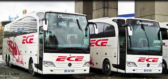 Ece Turizm Tekirdağ Otobüs Seferleri