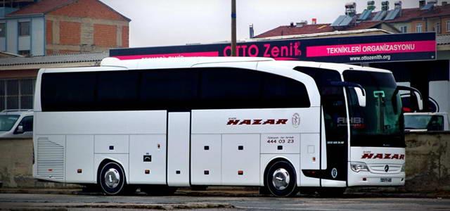 Elazığ Hazar Turizm İstanbul (Avrupa) - Otobüs Seferleri
