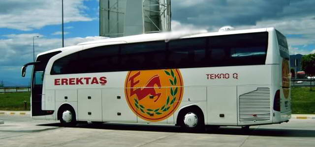 Erektaş Turizm Amasya Otobüs Seferleri