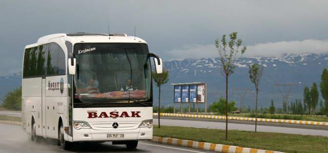 Erzincan Başak Turizm Yalova Otobüs Seferleri