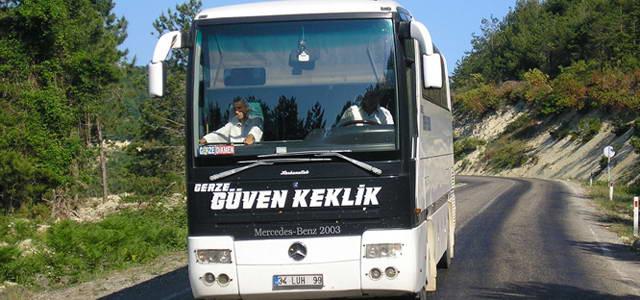Gerze Güven Keklik İstanbul (Avrupa) - Otobüs Seferleri