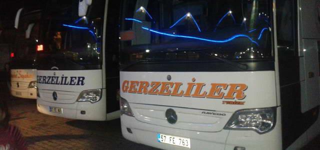 Gerzeliler Turizm İstanbul (Avrupa) - Otobüs Seferleri
