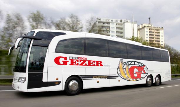 Gürkök Gezer Turizm İstanbul Otobüs Seferleri