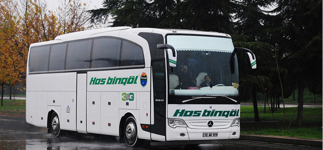 Has Bingöl Turizm Konya Bus Journeys