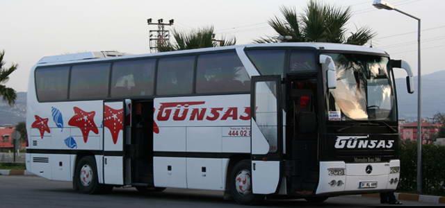 Hatay Günsas Tur Kütahya Otobüs Seferleri