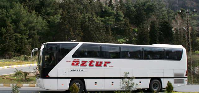 Hatay Öztur Kocaeli Otobüs Seferleri