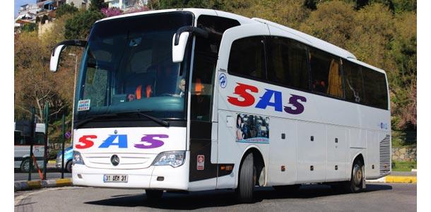 Hatay Sas Turizm Adana Otobüs Seferleri