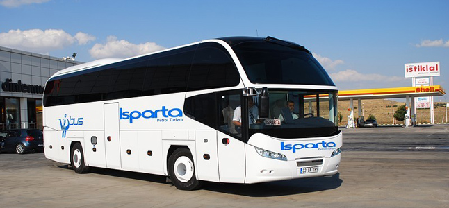 Isparta Petrol Turizm Konya Otobüs Seferleri