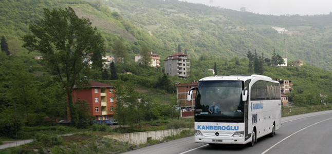 Kanberoğlu Turizm Van Bus Journeys