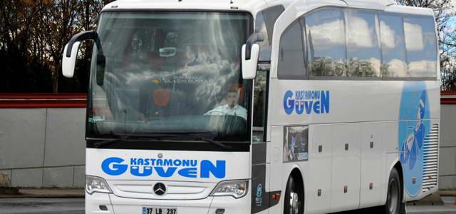 Kastamanu Güven Turizm İstanbul (Anadolu) Otobüs Seferleri