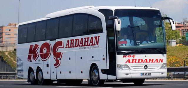 Koç Ardahan Seyahat Ankara Otobüs Seferleri