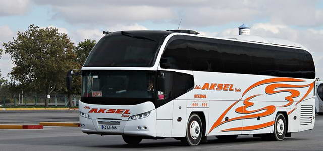 Lüks Aksel Seyahat Muğla Otobüs Seferleri