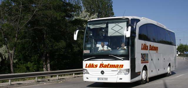 Lüks Batman Seyahat Uşak Otobüs Seferleri