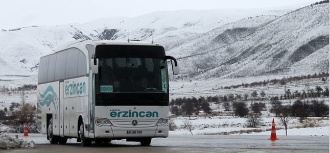 Lüks Erzincan Seyahat Ankara Otobüs Seferleri