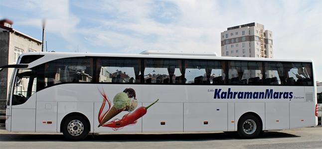 Lüks Kahramanmaraş Turizm Antalya Otobüs Seferleri