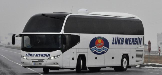 Lüks Mersin Eskişehir Otobüs Seferleri
