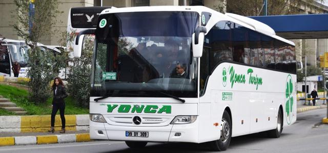 Lüks Yonca Seyahat İstanbul (Anadolu) Otobüs Seferleri