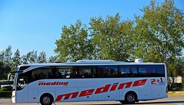 Malatya Medine Turizm İstanbul (Avrupa) - Otobüs Seferleri