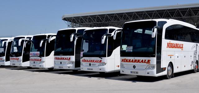 Niksarkale Turizm Amasya Otobüs Seferleri