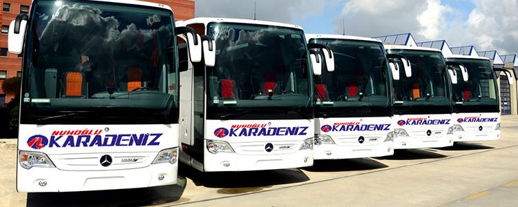 Nuhoğlu Karadeniz İstanbul Otobüs Seferleri