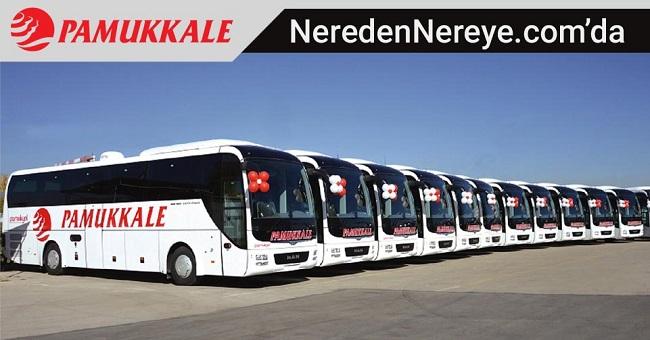 İstanbul (Avrupa) - Pamukkale Turizm Otobüs Bileti | NeredenNereye.com