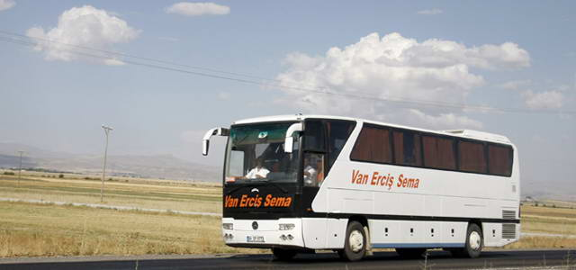 Van Erciş Sema Amasya Bus Journeys