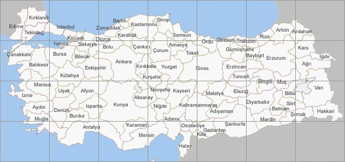 Turkey Road Map