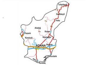 Adana Map