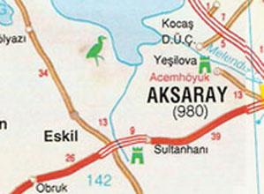 Aksaray Haritası