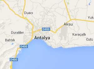 Antalya Haritası