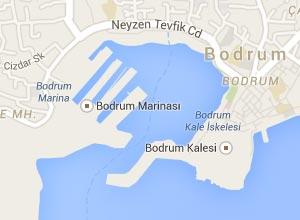 Bodrum Haritası