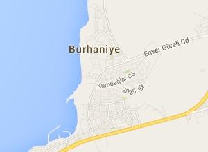 Burhaniye Haritası