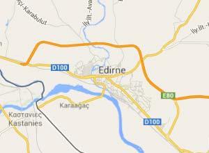 Edirne Haritası
