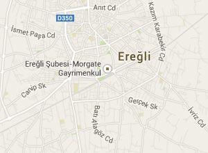 Ereğli (Konya) Haritası