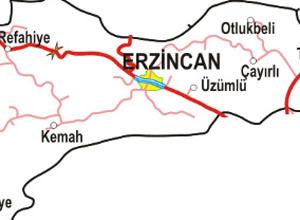 Erzincan Haritası