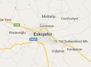 Eskişehir Haritası