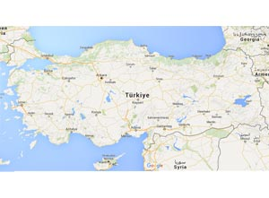 Gazipaşa Haritası
